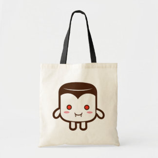 Vampire marshmallow canvas bags