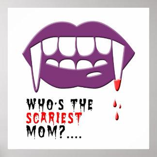Vampire mom poster