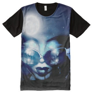 Vampire Moon All-Over Print T-Shirt