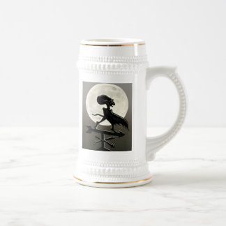 Vampire Moon Stein Mugs