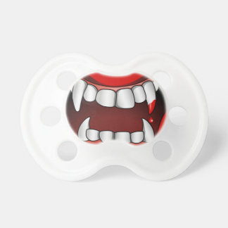 Vampire Mouth With Drop of Blood Dummy