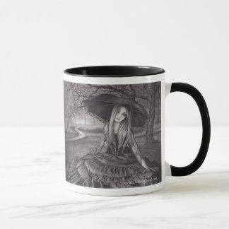 Vampire Mug Halloween Mug Gothic Art Mug