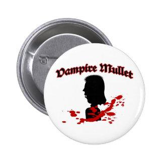 Vampire Mullet Buttons