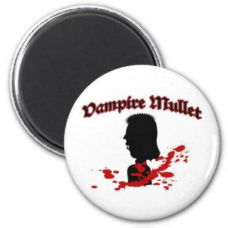 Vampire Mullet Refrigerator Magnet