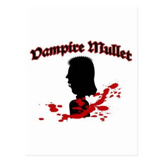 Vampire Mullet Postcard