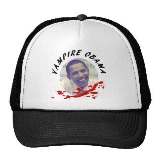 Vampire Obama with Blood Splatter Hat