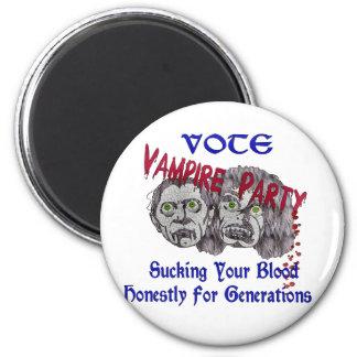 Vampire Party 6 Cm Round Magnet