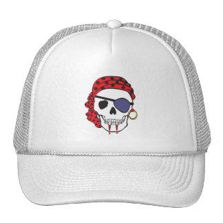 Vampire Pirate Skull Cap
