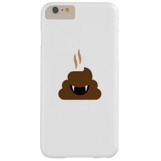 Vampire Poop Emoji Funny Halloween Barely There iPhone 6 Plus Case