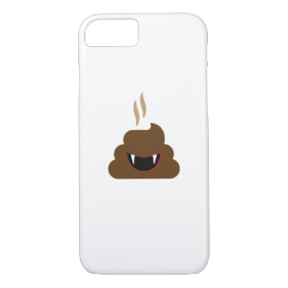 Vampire Poop Emoji Funny Halloween iPhone 8/7 Case