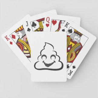 Vampire Poop Emoji Halloween Playing Cards