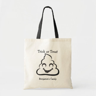 Vampire Poop Halloween Emoji Treat Bags