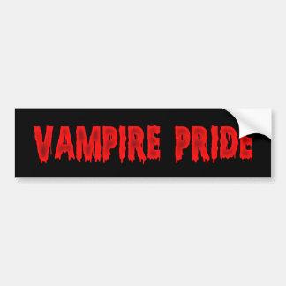 vampire pride bumper stickers