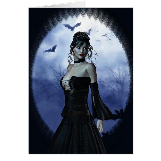 Vampire princess card
