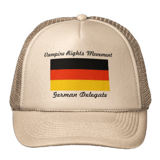 Vampire Rights Movement - Germany Mesh Hats