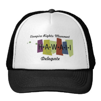 Vampire Rights Movement - Hawaii Mesh Hat