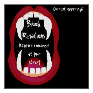 Vampire romances booklist poster