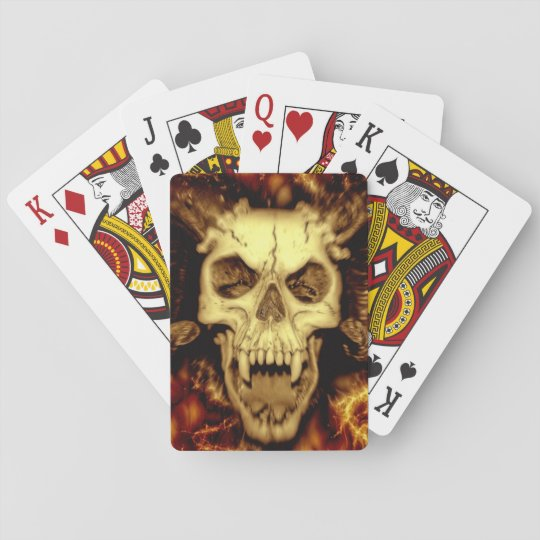 Vampire Sheep Playing Cards