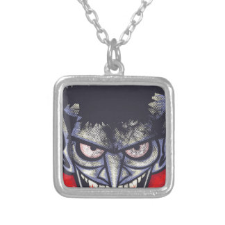 Vampire Silver Plated Necklace