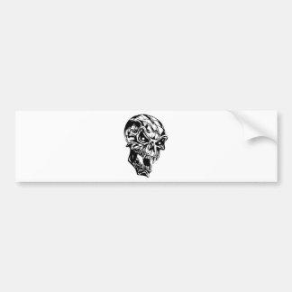Vampire Skull Bumper Stickers