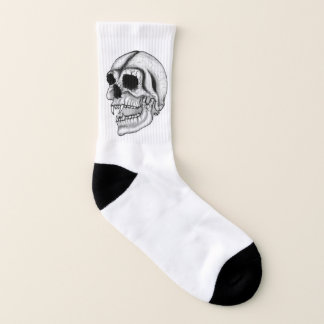 Vampire Skull Socks