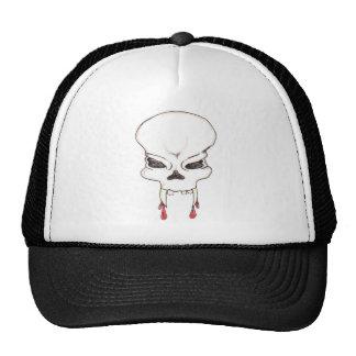 Vampire Skull Truckers Cap