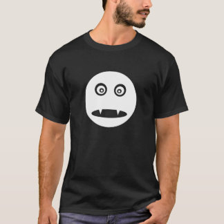 Vampire Smiley T-shirt Black