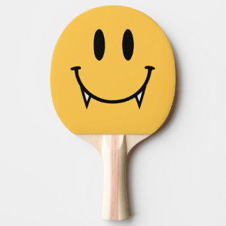 Vampire Smiley Table Tennis Paddle