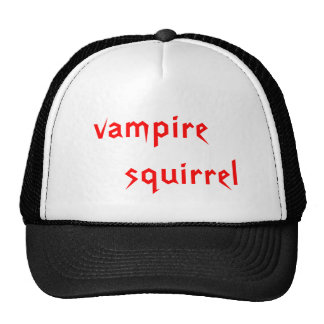 vampire      squirrel cap