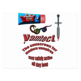 Vampire Sunscreen Postcard