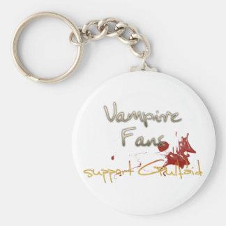 Vampire Support Keychain