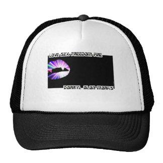 Vampire Teeth Lightshow Silhouette Cap