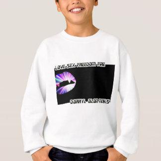 Vampire Teeth Lightshow Silhouette Sweatshirt