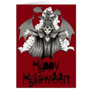 Vampire Transformation Card