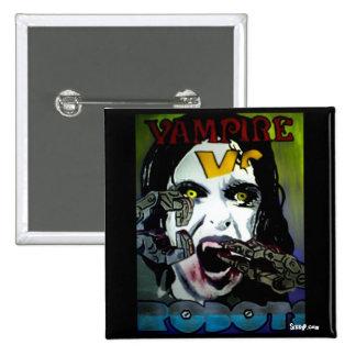 'Vampire Vs. Robots' Button
