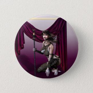 Vampire Warrior 6 Cm Round Badge