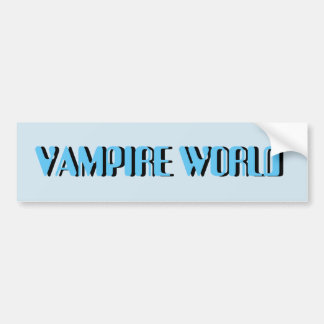 VAMPIRE WORD STICKER
