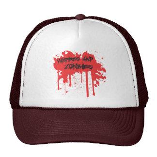 Vampires and Zombies Cap