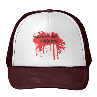 Vampires and Zombies Mesh Hat