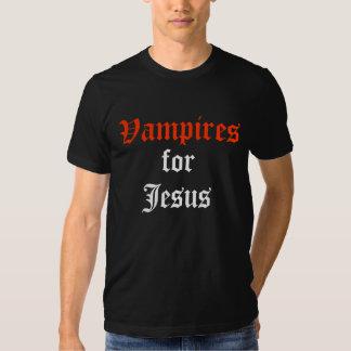 Vampires, for, Jesus Tee Shirt