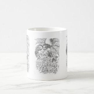 Vampire's Kiss by Al Rio - Vampire and Woman Art Coffee Mug