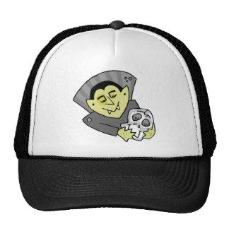 Vampires Skull Trucker Hat
