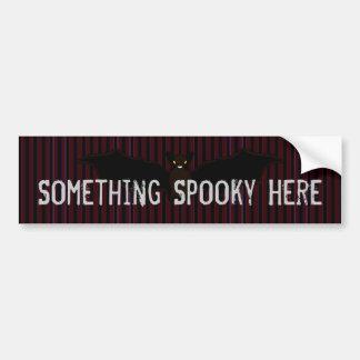 Vampire's Stripes Car Bumper Sticker