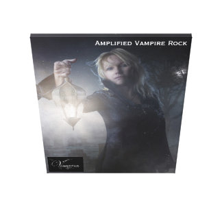 Vamplified Carrefour Vampir Canvas Print