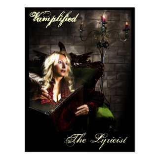 Vamplified, The Lyricist Postcard