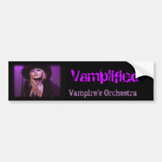 Vamplified Vampire's Orchestra Bumper Stickers