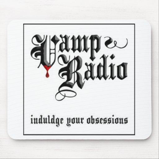 VampRadio-blogspot Mouse Pads