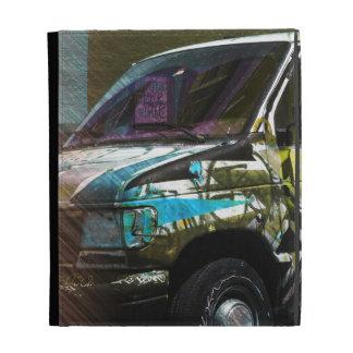 Van A roid - SanFrancisco Graffiti truck iPad Case