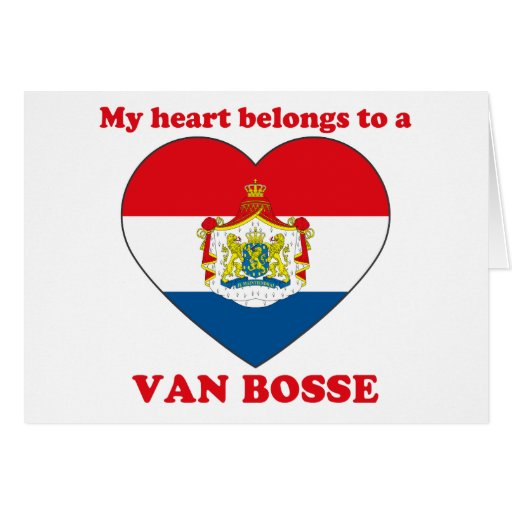 Van Bosse Greeting Cards
