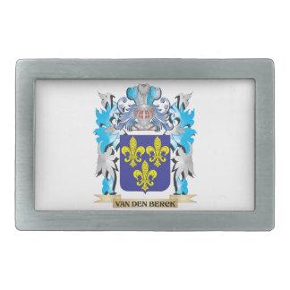 Van-Den-Berck Coat of Arms - Family Crest Belt Buckles